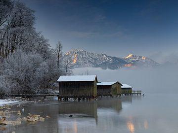 Winterstimmung am Kochelsee
