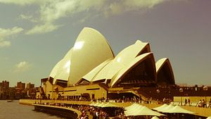 Nostalgic Sydney Opera House  van Tessa Louwerens