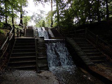 Loenense waterval van Klaas Roos