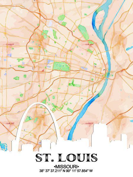 St. Louis von Printed Artings