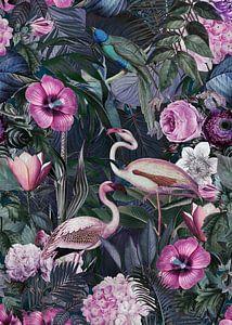 Flamingo Jungle van