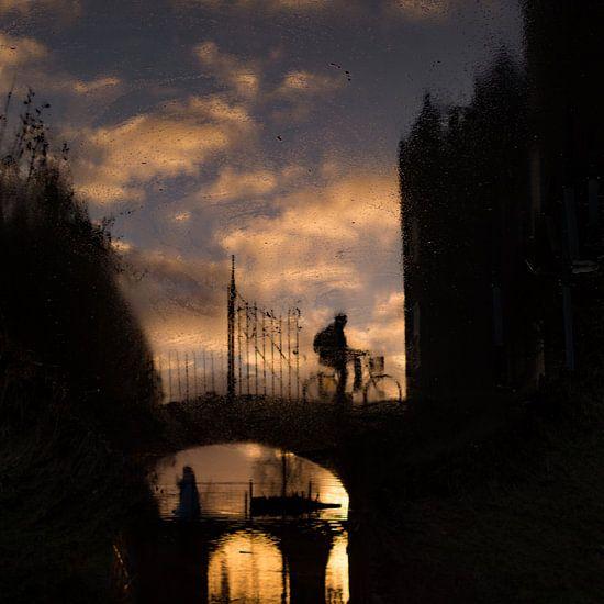Reflectie bij Slot Assumburg van Paul Beentjes