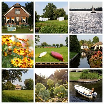 Beelden van Giethoorn, Nederland van Ioanna Stavrakaki