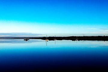 Zicht op water van Merlijn Viersma