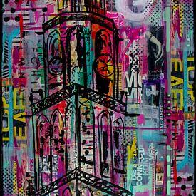 Turm Groningen von Janet Edens