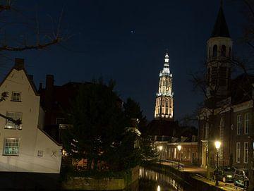 Amersfoort, uitzicht op de toren van Gertjan Hesselink