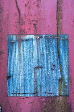 Colored in blue and pink van Elisabeth de Boer