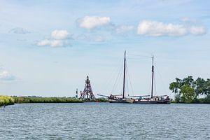 Vanuit de VOC haven naar open water