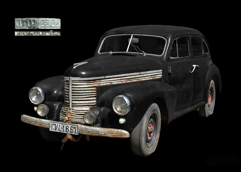 Opel Kapitän (modèle d'avant-guerre) sur aRi F. Huber