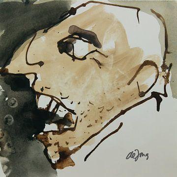 Alex, portret, avatar von Leo de Jong