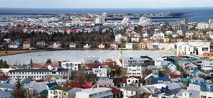 Reykjavik in IJsland von Hannie Bom