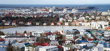 Reykjavik in IJsland van Hannie Bom