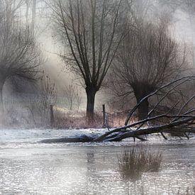 Winter ochtendlicht van Huub Keulers