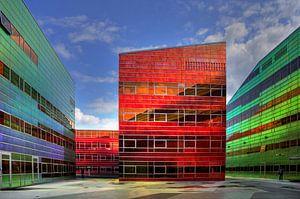 Architectuur Belastingkantoor en UWV Almere van
