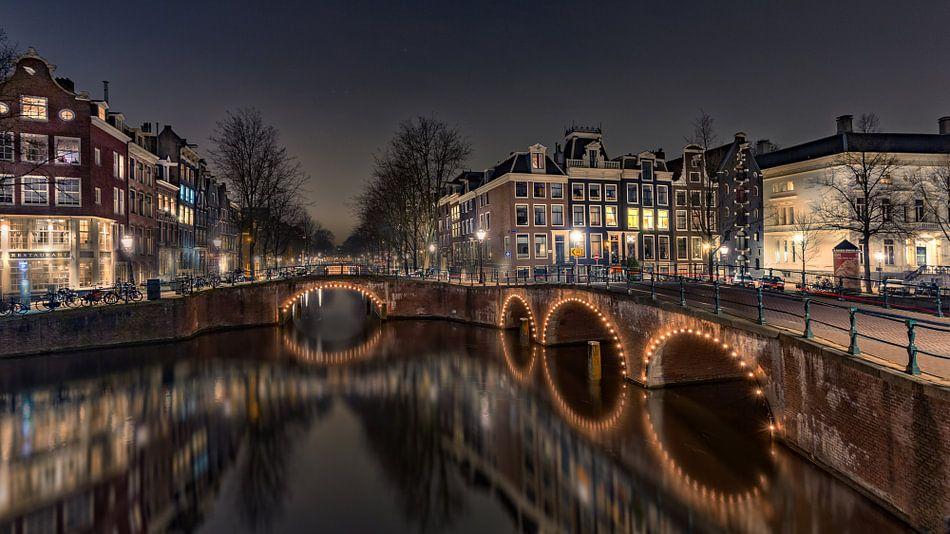 Keizersgracht Amsterdam van Michael van der Burg