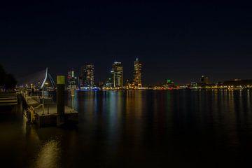Skyline of Rotterdam von Eus Driessen