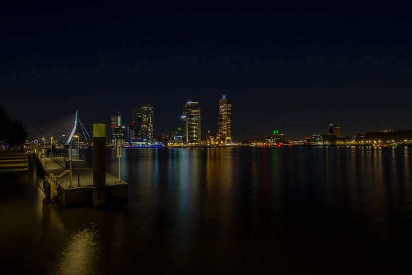 Skyline of Rotterdam van Eus Driessen