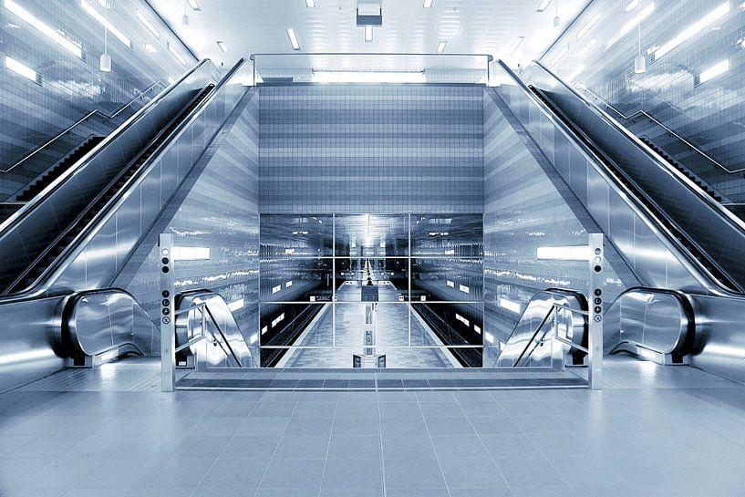 Untergrund Hamburg van Patrick Lohmüller