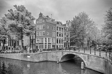 Keizersgracht – Leidsegracht – Amsterdam van Tony Buijse
