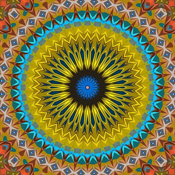 Mandala type 35a van Marion Tenbergen