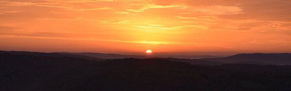 Panorama zonsopkomst van Gonnie van Hove