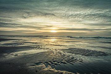 Niederländische Küste im Winter von eric van der eijk