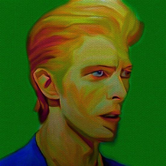 My name is David Bowie 1970 van Felix von Altersheim