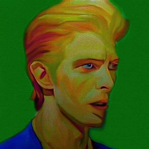 My name is David Bowie 1970 von Felix von Altersheim