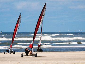 Strandsegeln auf Terschelling von Steven Boelaars
