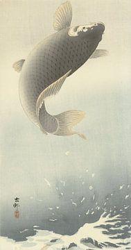Aufsteigender Karpfen aus Ohara Koson