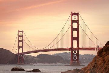 Golden Gate Bridge, San Francisco, Californië, USA sur Roger VDB