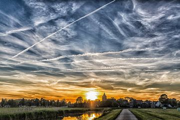Beautiful sky of Holland van Willy Sybesma