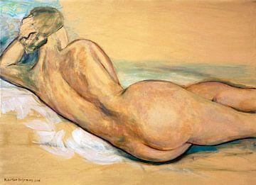 Nackt liegend, Hubertine Heijermans von Atelier Liesjes