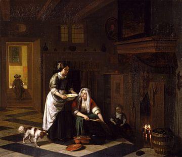 Der Kamin, Pieter de Hooch
