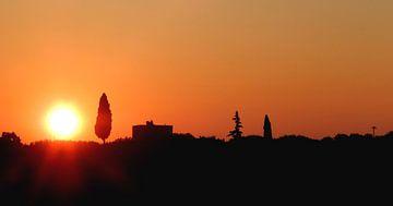 Zonsopkomst Puglia van Niels Den Haan