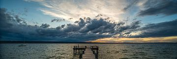 Wetterwechsel am Ammersee von Denis Feiner