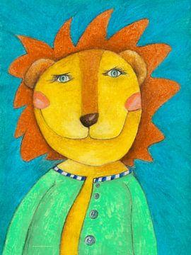 Liam der sanfte Löwe van Atelier BuntePunkt