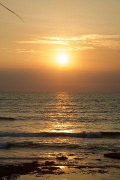 Zonsondergang Bali van Penelope Willis