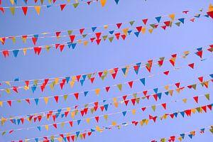 Des drapeaux colorés