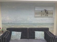 Klantfoto: Kinderen der Zee, Jozef Israëls, op canvas