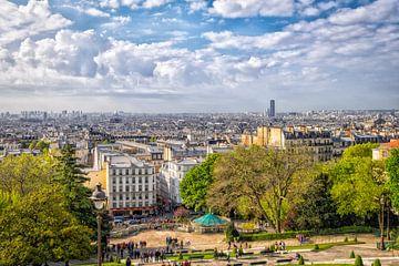 Blick über Paris von Johan Vanbockryck