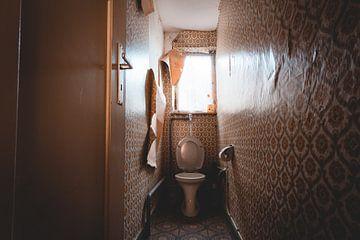 Les toilettes délabrées