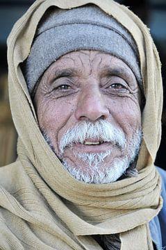 In een oase in Egypte, vlakbij de Soedanese grens. van