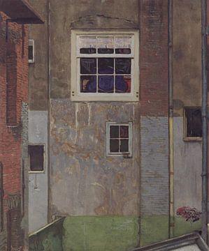 Binnenplaats in de Kalverstraat van E Jansen