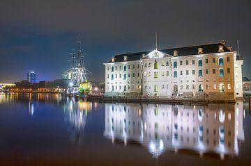 Het Scheepvaartmuseum Amsterdam van Marc Hollenberg