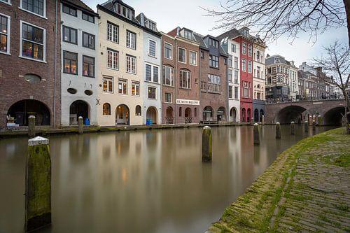 Oudegracht Utrecht Spiegeling