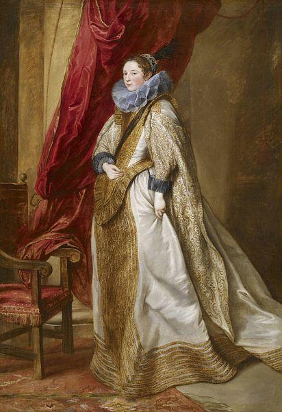 Genuesische Adelige, Antoon van Dyck von Meesterlijcke Meesters