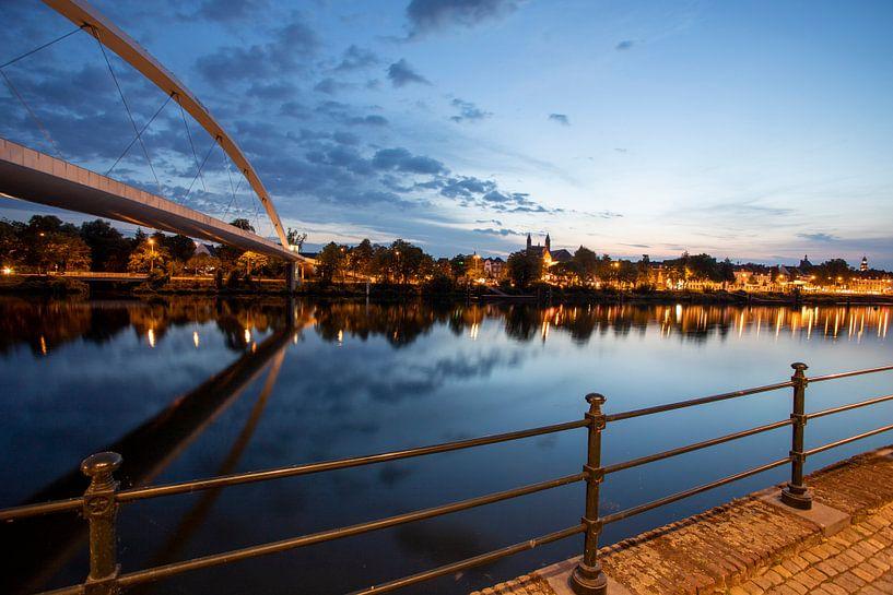 Skyline Maastricht van Dave Heuvels
