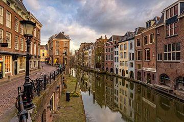 Utrecht - Oude Gracht & Lichte Gaard von Thomas van Galen