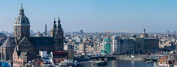 Skyline  Amsterdam  von Peter Bartelings Photography